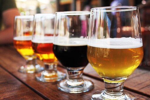 tap into our local craft beer selection craft
